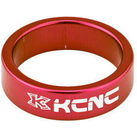 "KCNC Headset Spacer 1 1/8"" 10mm rood"